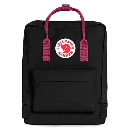 Fjallraven - Kanken Classic Backpack for Everyday, Limited Edition Black/Plum