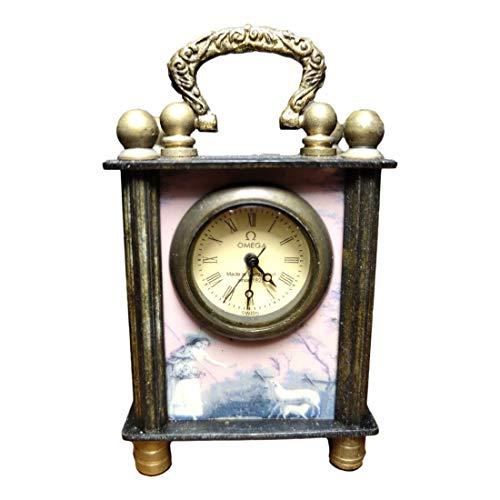 LAOJUNLU Omega estilo europeo y americano de cobre puro pequeños adornos mecánicos para reloj (al azar)