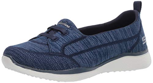 Skechers Women's Microburst 2.0-Best Ever Sneaker, Navy, 11 W US