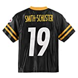Juju Smith-Schuster Pittsburgh Steelers #19 Black Youth Home Player Jersey (Large 14/16)