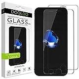 Dooloo Ultraglas HD Panzerglas [2 Stück] kompatibel mit iPhone 6S Plus, iPhone 6 Plus Kratzfeste Panzerfolie 9H Hart Glas Folie mit optimalem Bildschirmschutz blasenfreie Schutzfolie