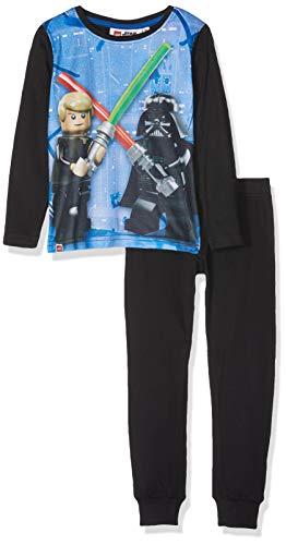 LEGO Jungen Boy Star Wars CM-73151 Pyjama Zweiteiliger Schlafanzug, Mehrfarbig (Black 995), 104