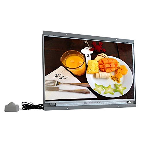 LWSJP Portable Dvd Player 15 Inch Screen 1080p Monitor Lcd Display With Motion Sensor
