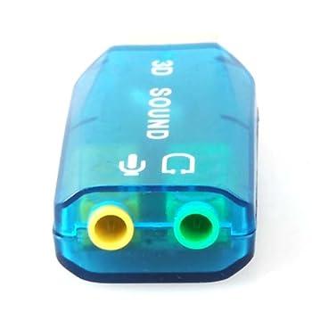 USB Sound Card Adaptor
