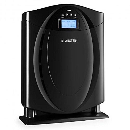 Klarstein 10028009 30dB Negro - Purificador de aire (30 dB, 40 m³ ...