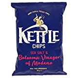 KETTLE - CHIPS SEA SALT & BALSAMIC VINEGAR - 150 G