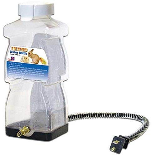 Farm Innovators HRB-20 Heated Water Bottle for Rabbits