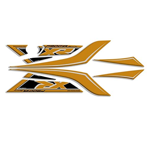 Kofferraum Protektor Motorrad 3D Gel hinten Verkleidung Protector Board Aufkleber Motorfahrzeugaufkleber Kit für BMW F900XR F900 XR F900XR 2020 Motorrad Tank Schutz Zubehör (Color : A1)