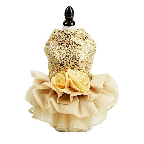FLAdorepet Bling Dog Dress