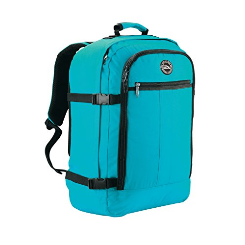 Cabin Max Metz Travel Backpack| Hand Luggage Flight Bags Cabin Bags 55 x 40 x 20 (Biscay Blue)