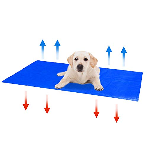 Pet Cooling Mat | Home Accessories | Puppy Pad | Dog Accessories | Pet Bed | Cat Mat | Waterproof Cooling Mat | Pukkr