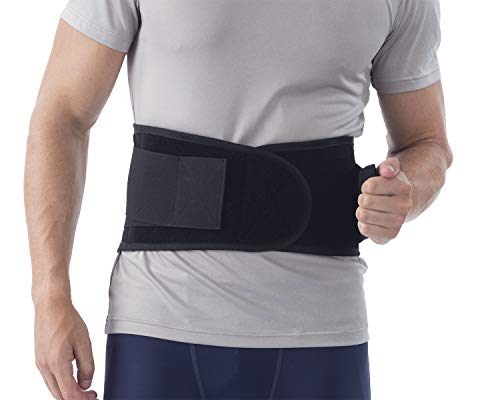 NYOrtho Back Brace Lumbar Support Belt - for Men and Women | Instantly Relieve Lower Back Pain | Maximum Posture and Spine Support, Adjustable, Breathable with Removable Suspenders | 4XL 50-54 in.