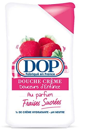 Dop Douceurs d'Enfance Gel Douche Crème Au Parfum Fraises Sucrées 250ml