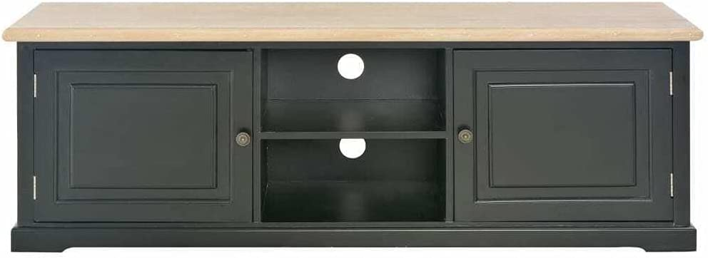 TV Stand Entertainment Center 2021new shipping free shipping Console Shelf w Cabinet 5 ☆ popular Storage Fu