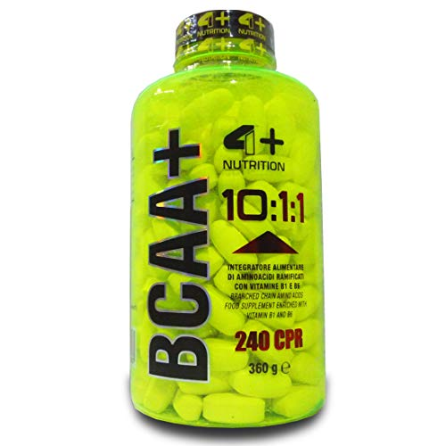 BCAA+ 10:1:1-4+ NUTRITION (240 COMPRESSE)