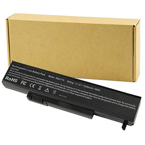 Futurebatt 5200mAh Laptop Battery for Gateway, Gateway T Gateway M Series, SQU-715 SQU-720 W35044LB W35044LB-SP W35044LB-SY W35052LB