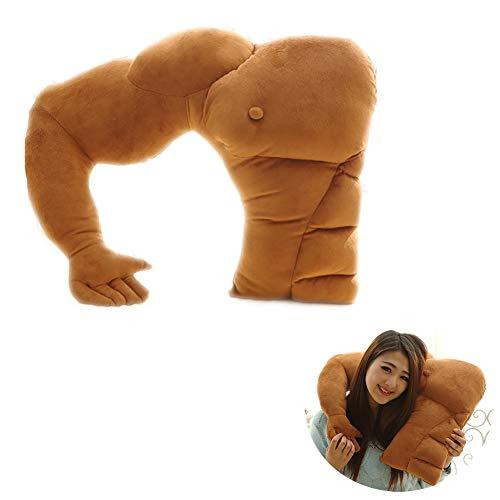 TINGTING U-Förmigen Freund Arm Kissen Plüschtiere Weiche Gefüllte Muskel Arm Schlafen Umarmung Spielzeug PP Baumwollpolsterung