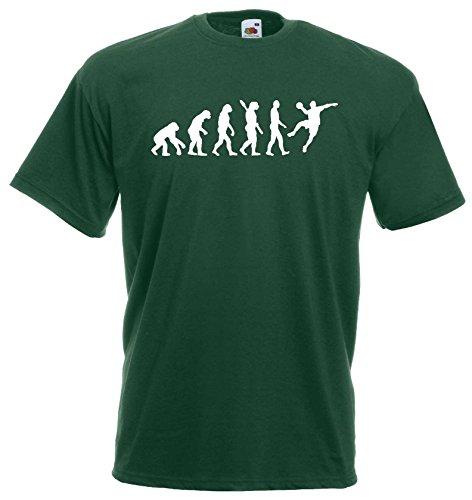 Handball Herren Evolution T-Shirt WM Sport Shirtdunkelgrün-M