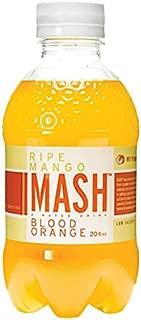 Mash Ripe Mango Blood Orange Sparkling Fruit Drink 20 oz Plastic Bottles - Pack of 15