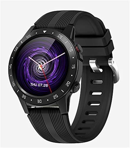 Smart Watch, orologio sportivo impermeabile Bluetooth con GPS e barometro guida altimetro, compatibile con Android IOS (colore : nero)