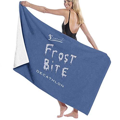U/K Frostbite Decathlon - Toalla de baño (secado rápido)