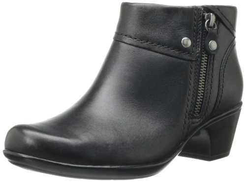 Hot Sale Clarks Women's Ingalls Thames Bootie,Black Leather,8 M US