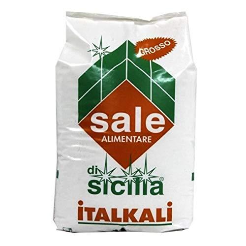 Salgemma grosso di sicilia, sacco da 25 kg. Per depuratori addolcitori ed industria alimentare