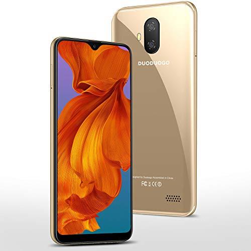 4G Smartphone Offerta del Giorno 5.5 pollici 32GB 128GB ROM 3GB RAM Android 9.0 Certificato Google GMS Smartphone Economici Cellulari Offerte Dual SIM 3400mAh Telefono Cellulare in Offerta,Oro