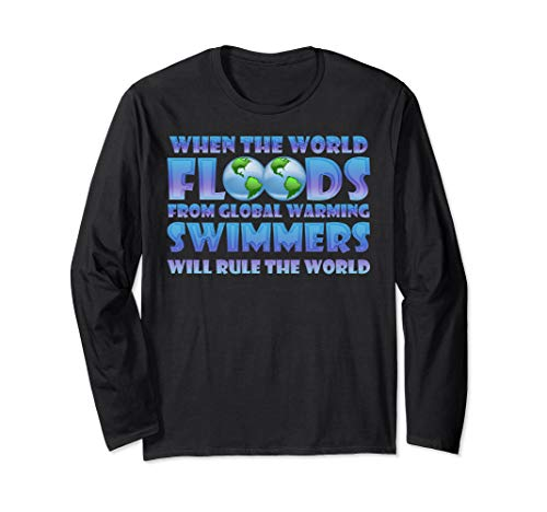 When The World Floods From Global Warming Swimmers Will Rule