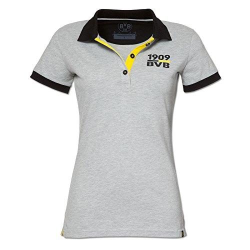BVB Polo de pour les femmes (Gris (Gris argenté)) - Gris - XX-Large