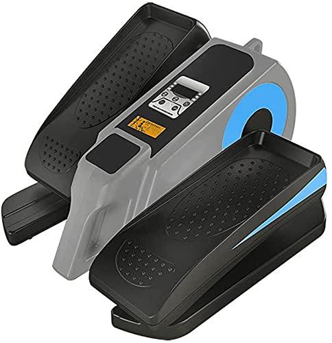 DYHQQ Ejercitador de Pedal eléctrico, máquina elíptica Debajo del Escritorio con Control Remoto, Pantalla táctil, Entrenamiento portátil para Personas Mayores y Adultos