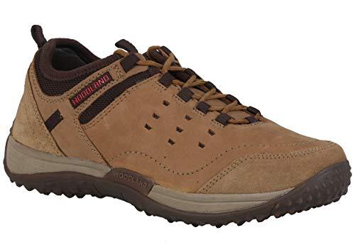 Woodland Men's Camel Leather Casuals Shoes-8 UK/India (42 EU) -(OGC 2584117)