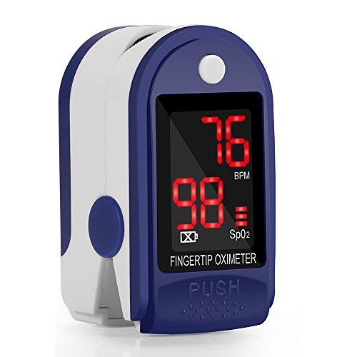 Pulsómetro Digital Oxímetro Pulso Pulsioxímetro