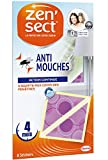 Zen'Sect Stickers Anti–Mouches – 8 Autocollants
