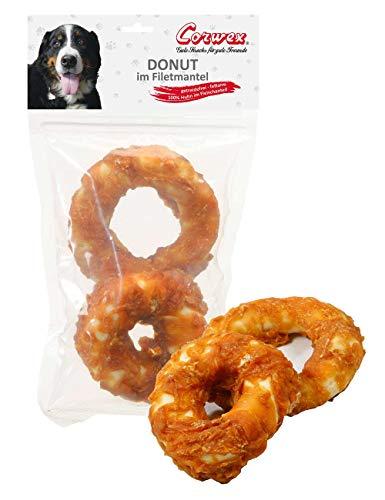 Corwex Hundesnack Doppel-Donut - Im Filetmantel (4 x 250 g)