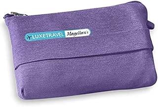 Magellan's LuxeTravel Jersey Travel Blanket (Purple)