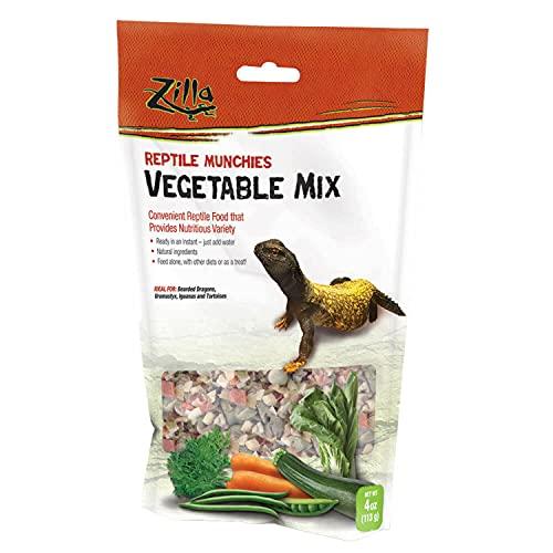 Reptile Munchies Vegetable Mix 4oz