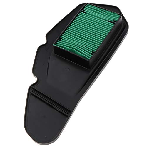Homyl Repair Part for Honda PCX 150 Motorcycle Accessories Replacement Filter Element, Green - Green