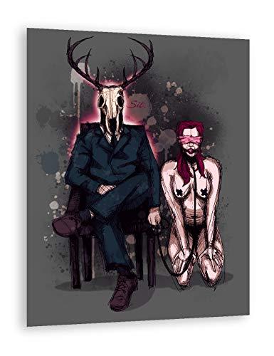 Deer Daddy: Sit Fine Art Print