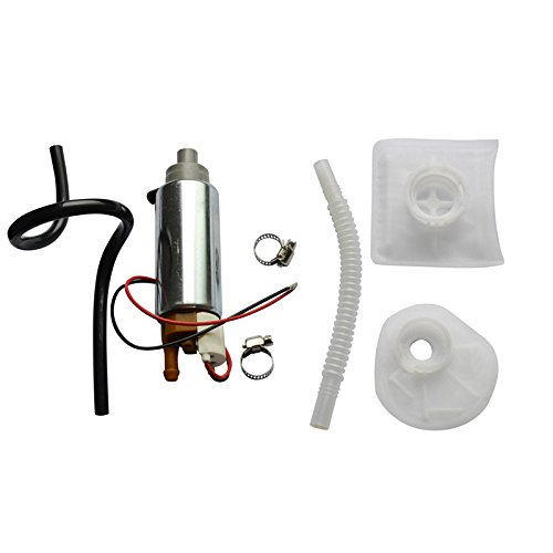 MUCO Brand New Electric Fuel Pump & Complete Installation Kit Fit Chrysler Dodge E7086M E7093M E7116M E7117M E7124M E7138M E7161M