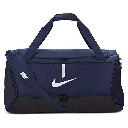 Nike Unisex– Erwachsene Academy Team Taschen, Midnight Navy/Schwarz/Weiß, MISC
