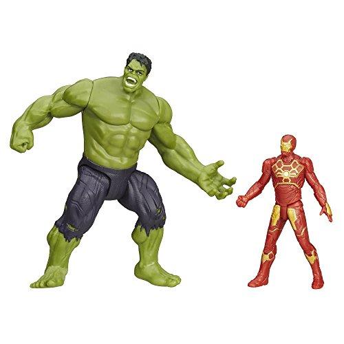 Marvel Avengers Age of Ultron Savage Hulk vs. Ultron Hunter Iron Man