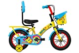 BSA 9.00 Dotty 14T BMX Bike BICYCLE for Kids (Age 3 to 5 Years, Canary Yellow)