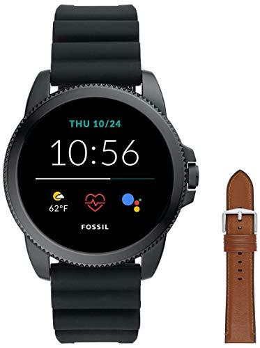 Fossil Smartwatch GEN 5E Connected da Uomo con Wear OS by Google, Frequenza Cardiaca, GPS, Notifiche...