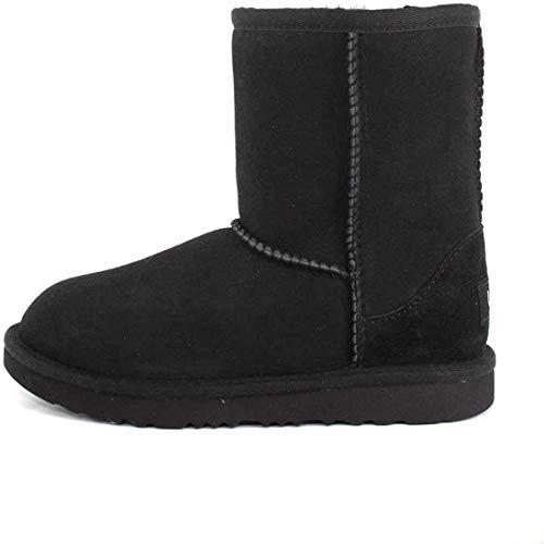 UGG Kid's Female Classic II Classic Boot, Black, 5 (UK)