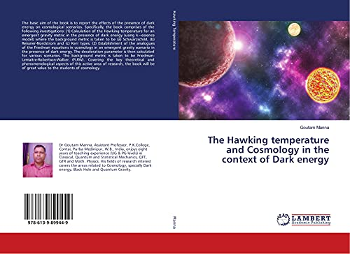 The Hawking temperature and Cosmology in the context of Dark energy