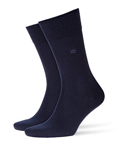 Burlington Herren Socken Leeds M SO, Blau (Marine 6120), 40-46 (UK 6.5-11 Ι US 7.5-12)