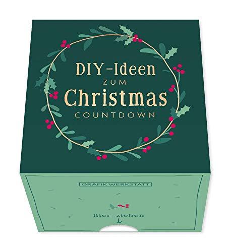 Grafik Werkstatt Message in a Box | Geschenkidee | 30 Kärtchen zum abreissen | Christmas Countdown