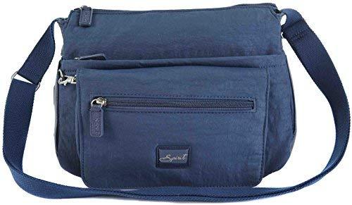 Spirit 1651' Large Lightweight Travel Crossbody Handbag 34.99 Now 29.99 (Navy Blue)