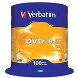 VERBATIM DVD-R/4.7GB 16xsd AdvancedAZO Spdl 100
